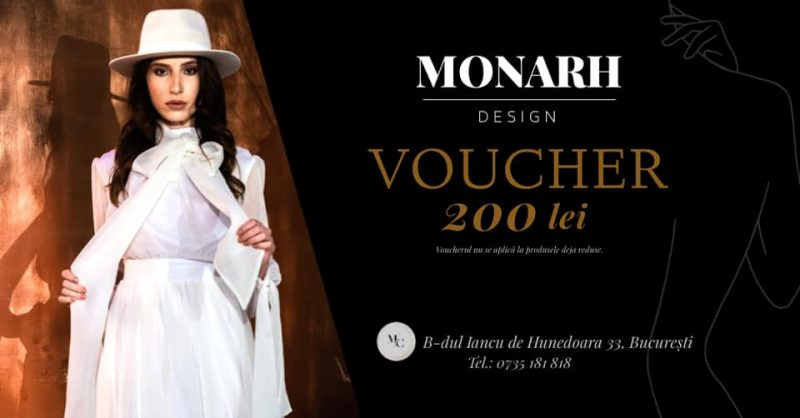 Regulament Promoție Monarh - Voucher
